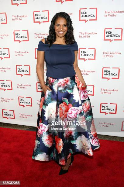 Actress Audra McDonald attends the 2017 PEN America Literary Gala at American Museum of Natural History on April 25 2017 in New York City