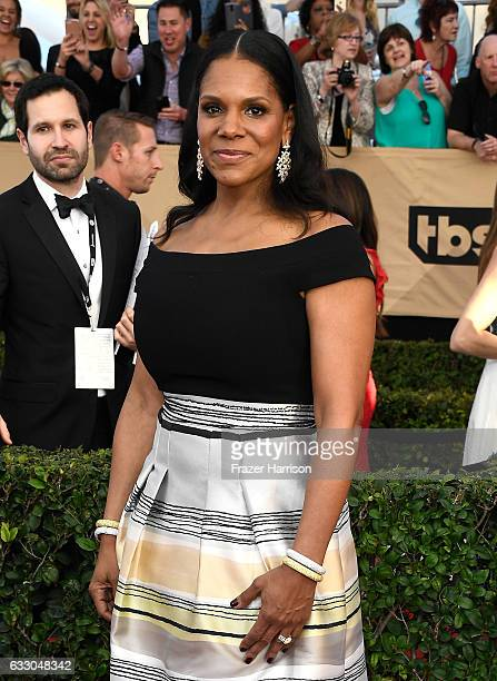 Actress Audra McDonald attends The 23rd Annual Screen Actors Guild Awards at The Shrine Auditorium on January 29 2017 in Los Angeles California...