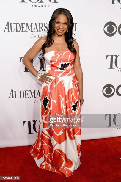 Actress Audra McDonald attends the 68th Annual Tony Awards at Radio City Music Hall on June 8 2014 in New York City