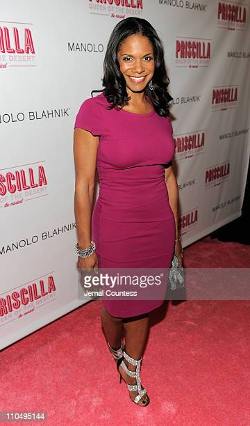 Actress Audra McDonald attends the Broadway opening night of Priscilla Queen of the Desert The Musical at the Palace Theatre on March 20 2011 in New...