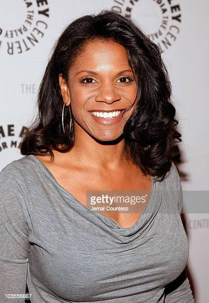 """Actress audra McDonald attends the """"She Made It: Women Creating Television and Radio"""" Awards Reception at the Paley Center for Media on December 6,..."""