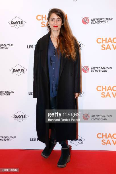 Actress Audrey Dana attends the 'Chacun sa vie' Paris Premiere at Cinema UGC Normandie on March 13 2017 in Paris France