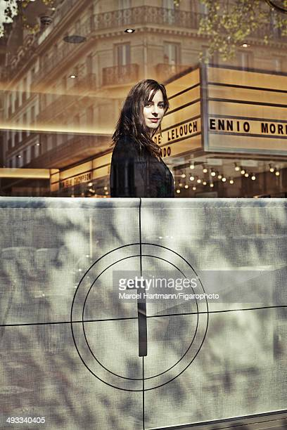 108968004 Actress Audrey Dana is photographed for Madame Figaro on April 8 2014 in Paris France PUBLISHED IMAGE CREDIT MUST READ Marcel...