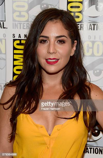 Actress Audrey Esparza attends Blindspot Press Line during ComicCon International 2016 at Hilton Bayfront on July 23 2016 in San Diego California