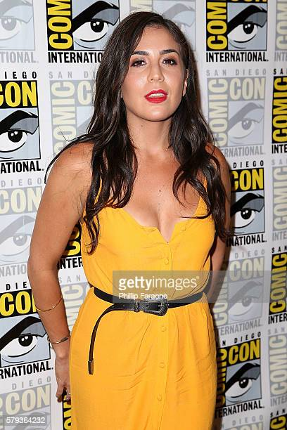 Actress Audrey Esparza attends the 'Blindspot' press line during ComicCon International 2016 on July 23 2016 in San Diego California