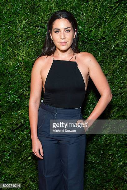 Actress Audrey Esparza attends the Saks Downtown x Vogue event at Saks Downtown on September 8 2016 in New York City