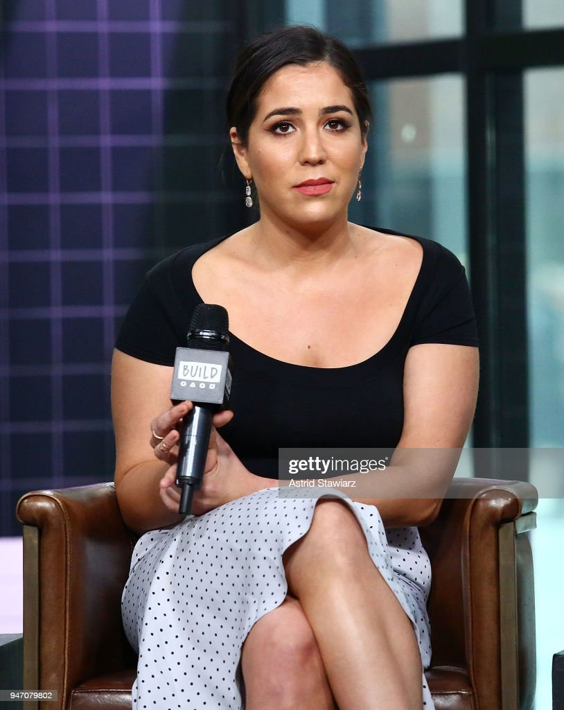 Actress Audrey Esparza discusses the NBC drama Blindspot at Build Studio on April 16, 2018 in New York City.