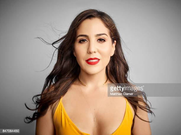 Actress Audrey Esparza from 'Blindspot' is photographed for Entertainment Weekly Magazine on July 23 2016 at Comic Con in the Hard Rock Hotel in San...