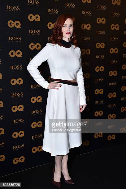 Actress Audrey Fleurot attends GQ Men Of The Year Awards at Musee d'Orsay on November 23, 2016 in Paris, France.