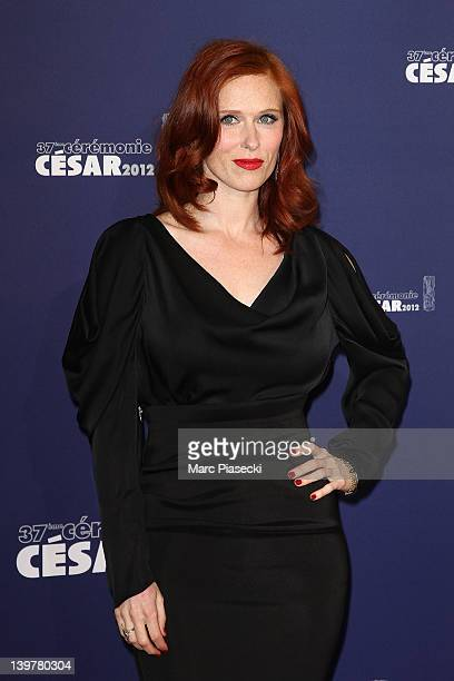 Actress Audrey Fleurot attends the 37th Cesar Film Awards at Theatre du Chatelet on February 24 2012 in Paris France