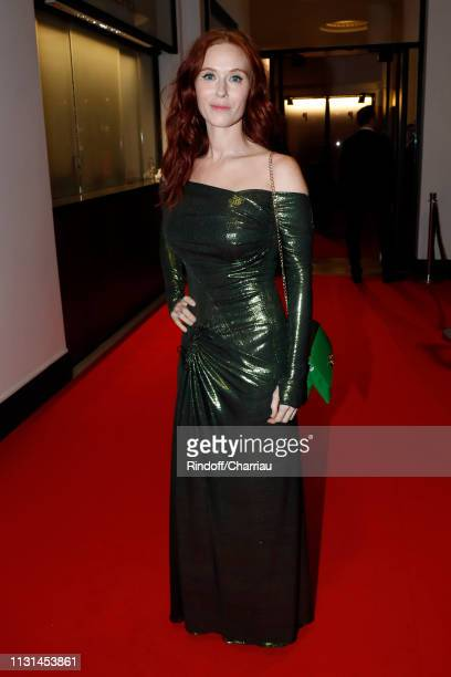 Actress Audrey Fleurot attends the Cesar Film Awards 2019 at Salle Pleyel on February 22, 2019 in Paris, France.