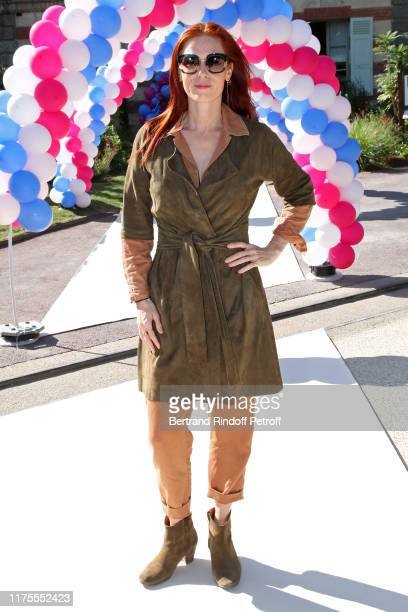 """Actress Audrey Fleurot attends the Launch of the """"Jardin D'Acclimatation"""" Workshops at """"Jardin D'Acclimatation"""" on September 18, 2019 in Paris,..."""