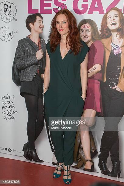 Actress Audrey Fleurot attends the 'Les Gazelles' Premiere at Cinema Gaumont Opera on March 24, 2014 in Paris, France.