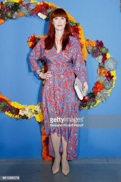 Actress Audrey Fleurot attends the Opening Season Gala - Ballet of Opera National de Paris - Held at Opera Garnier on September 21, 2017 in Paris,...