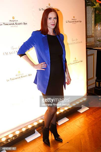 Actress Audrey Fleurot, pregnant, attends 'Shangri-La Hotels and Resorts' presents its new Hotel in Mauritius , 'Le Touessrok Resort and Spa'. Held...