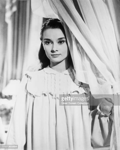 Actress Audrey Hepburn as Eliza Doolittle in the musical film 'My Fair Lady', 1964.