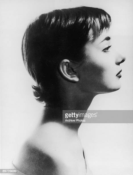 Actress Audrey Hepburn circa 1953