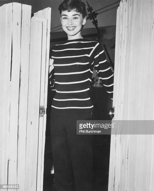 Actress Audrey Hepburn circa 1955