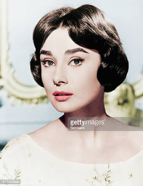 Actress Audrey Hepburn