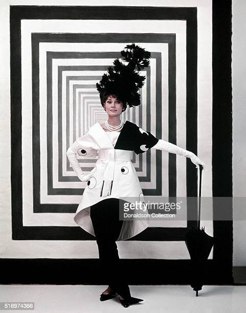 Actress Audrey Hepburn poses for a publicity still for the Warner Bros film 'My Fair Lady' in 1964 in Los Angeles California