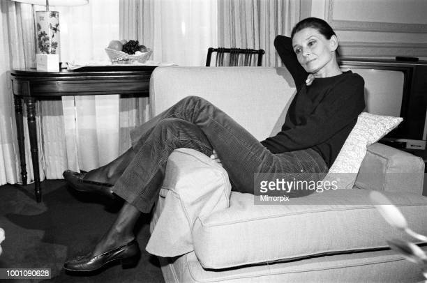 Actress Audrey Hepburn who is in London for a UNICEF conference The 57 year old actress is calling for further famine relief for Ethiopia 28th March...