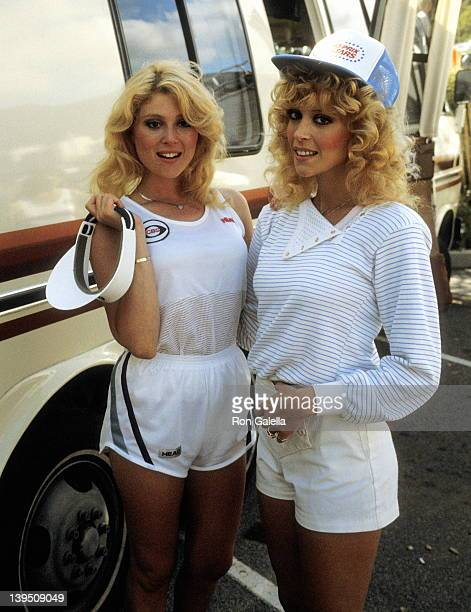 Actress Audrey Landers and actress Judy Landers attend the 'Battle of the Network Stars XIV' 14th Installment of the Celebrity Competition Television...