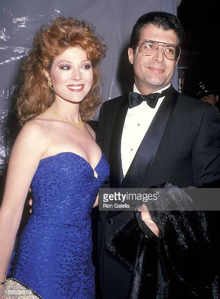 Actress Audrey Landers and husband Donald Berkowitz attend the Fred Hayman's New Fragrance 273 Launch Party and the Renaming of the Giorgio to Fred...