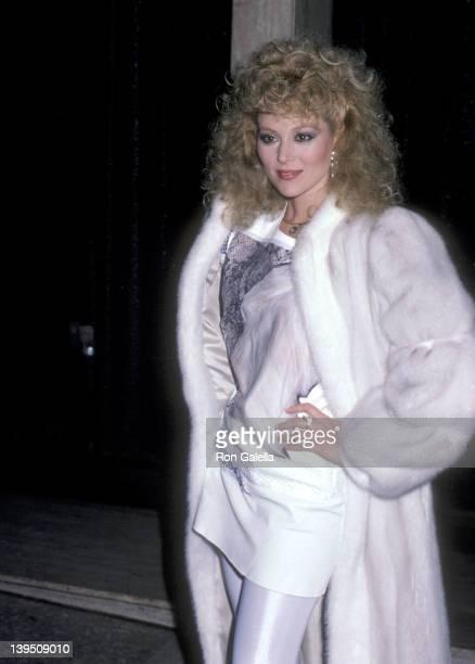 Actress Audrey Landers attends A Chorus Line Century City Premiere on December 2 1985 at Plitt's Century Plaza Theatres in Century City California