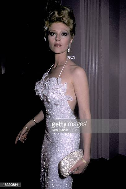Actress Audrey Landers attends 'A Chorus Line' Premiere Party on December 9 1985 at The WaldorfAstoria Hotel in New York City