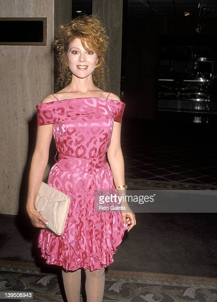 Actress Audrey Landers attends the ABC Fall TCA Press Tour on July 18, 1990 at Century Plaza Hotel in Los Angeles, California.