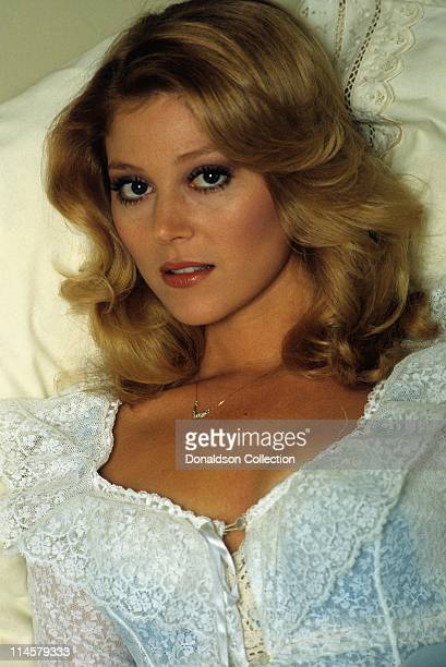 Actress Audrey Landers poses for a portrait in circa 1985 in Los Angeles California