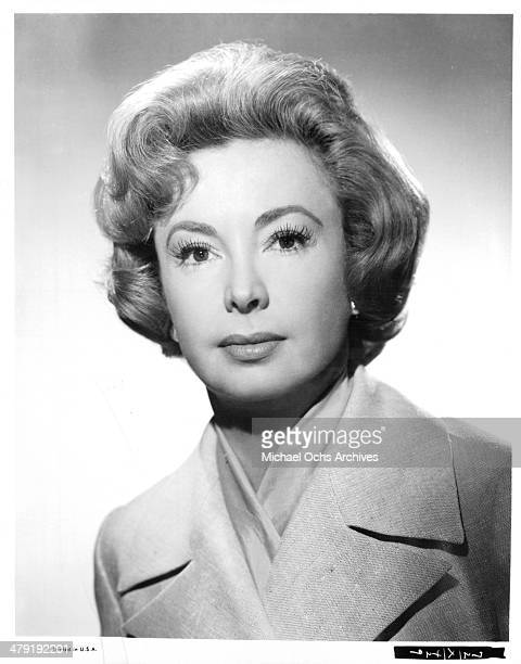 Actress Audrey Meadows poses for the movie 'Take Her She's Mine' circa 1963