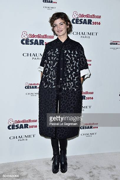 Actress Audrey Tautou attends the 'Cesar Revelations 2016' Photocall And Cocktail Dinner on January 11 2016 in Paris France