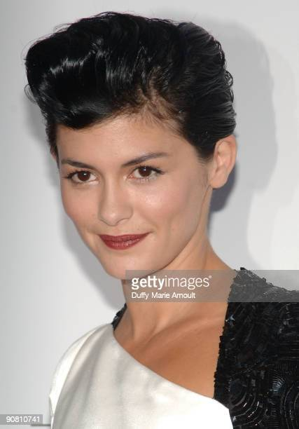 Actress Audrey Tautou attends the 'Coco Before Chanel' New York Premiere at the Paris Theatre on September 15 2009 in New York City