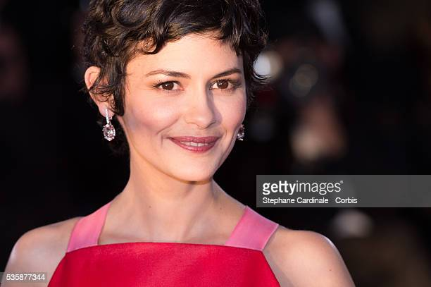 Actress Audrey Tautou attends the 'Palme D'Or Winners Photocall' during the 66th Cannes International Film Festival