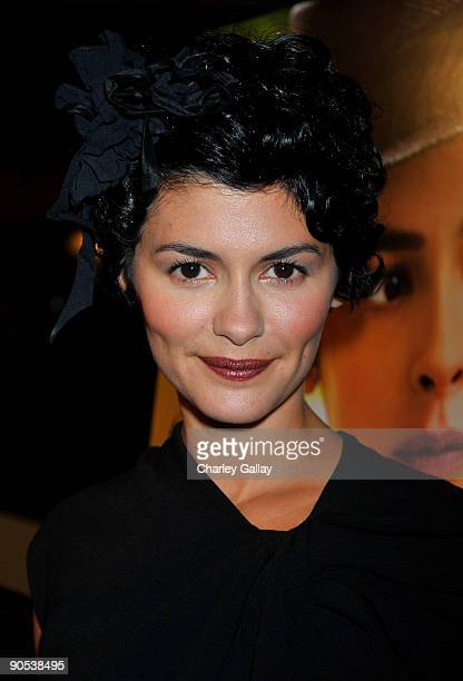 Actress Audrey Tautou attends the premiere of Sony Pictures Classics' Coco Before Chanel at the Pacific Design Center on September 9 2009 in Los...