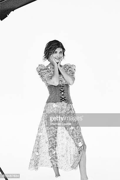 Actress Audrey Tautou is photographed for Self Assignment on July 12 2016 in Paris France