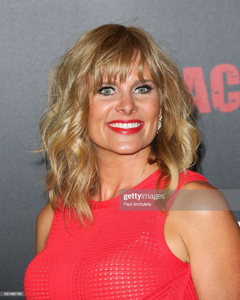 Actress Audrey Walters attends the premiere of AMC's 'Preacher' at Regal LA Live Stadium 14 on May 14, 2016 in Los Angeles, California.