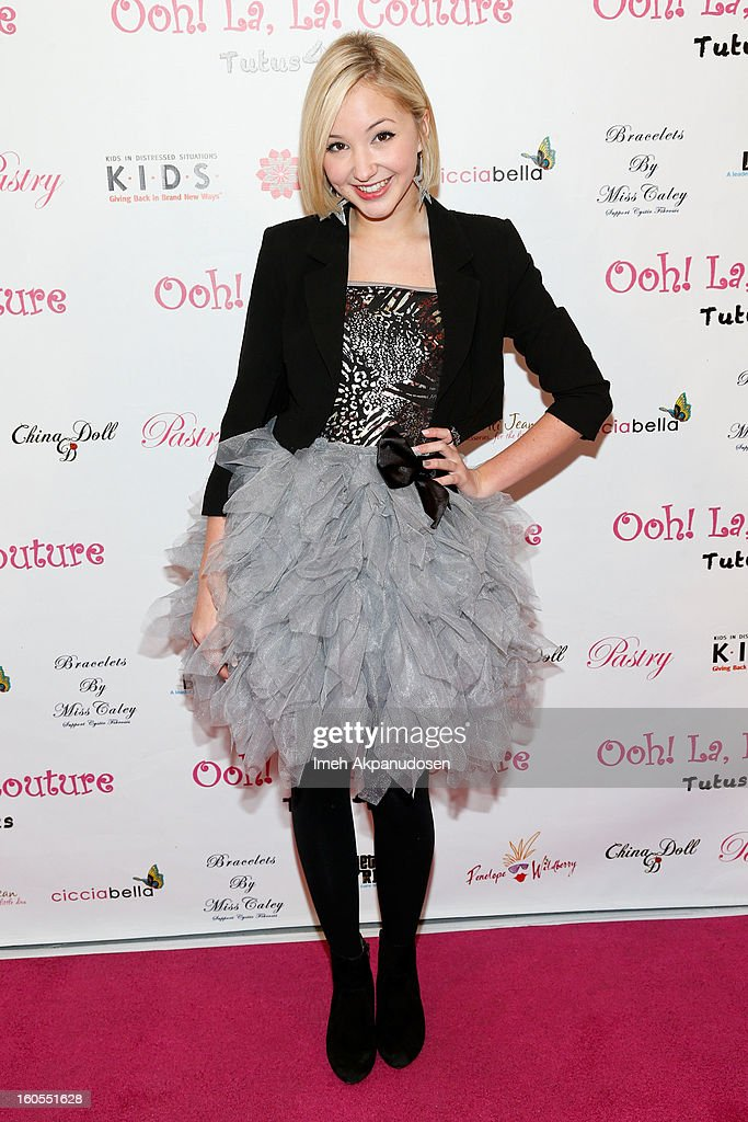 Actress Audrey Whitby attends the 4th Annual Tutus4Tots Event at Together We Rise on February 2, 2013 in Chino, California.