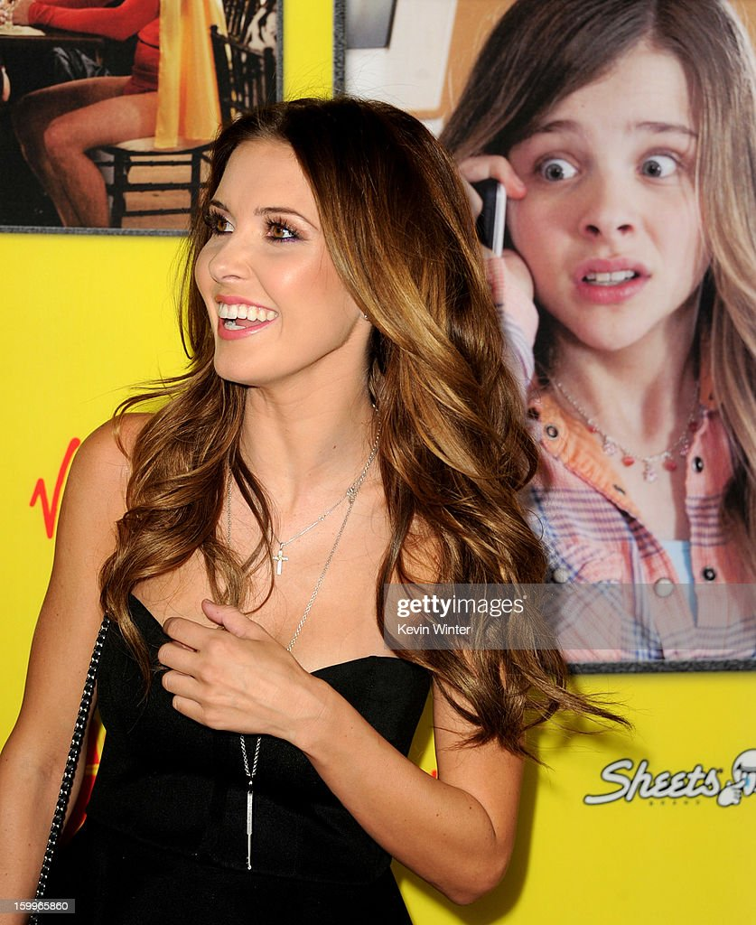 Actress Audrina Patridge arrives at the premiere of Relativity Media's 'Movie 43' at the TCL Chinese Theatre on January 23, 2013 in Los Angeles, California.