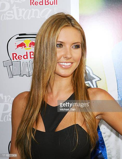 Actress Audrina Patridge arrives to the XGames 'Red Bull Toasted' honoring Travis Pastrana held at Avalon on July 28 2009 in Hollywood California