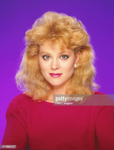 Actress Audry Landers poses for a portrait in 1986 in Los Angeles California
