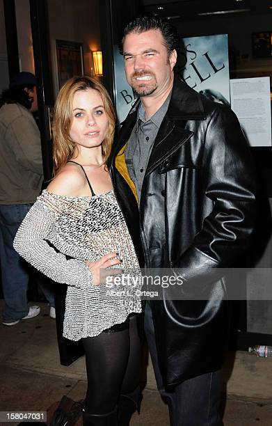 """Actress Augie Duke and actor Dave Cobert arrive for the Screening Of """"Bad Kids Go To Hell"""" held at Laemmle Music Hall Theater on December 7, 2012 in..."""
