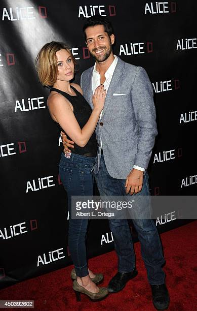 Actress Augie Duke and actor Patrick Cronen arrive for the Screening Of Alice D At The 19th Annual IFS Film Festival held at Laemmle's Music Hall...
