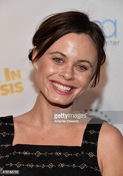 Actress Augie Duke arrives at the Los Angeles special screening of Ur In Analysis at the Egyptian Theatre on July 1 2015 in Hollywood California