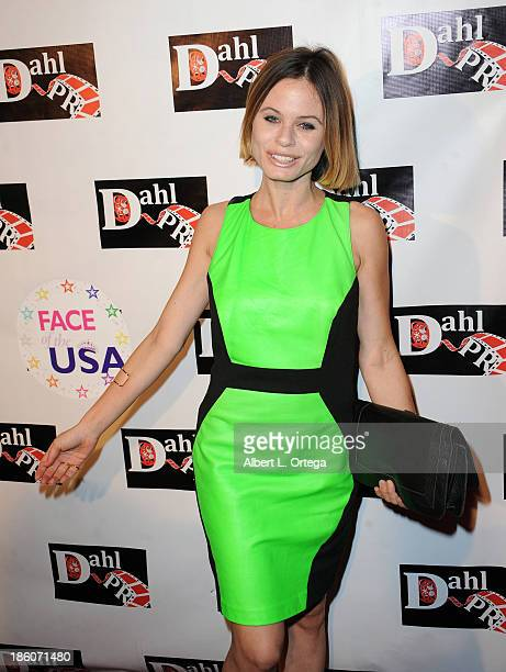 Actress Augie Duke arrives for The Black Dahlia Haunting DVD Release Party held at The Station Hollywood on October 15 2013 in Hollywood California