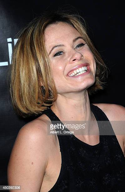 Actress Augie Duke arrives for the Screening Of Alice D At The 19th Annual IFS Film Festival held at Laemmle's Music Hall Theatre on May 27 2014 in...