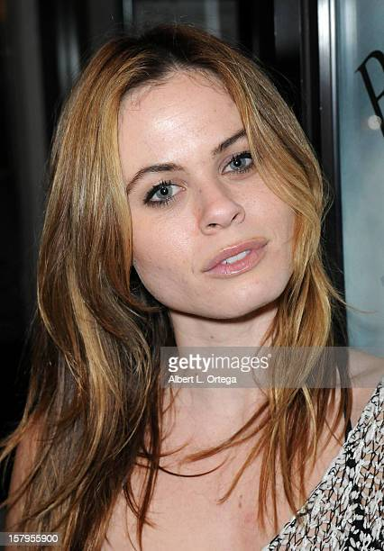 Actress Augie Duke arrives for the Screening Of Bad Kids Go To Hell held at Laemmle Music Hall Theater on December 7 2012 in Beverly Hills California