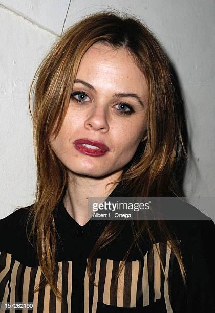 Actress Augie Duke attends the Birthday Party for Model/actress Chanel Ryan also celebrating the release of Bad Kids Go To Hell held at Eden on...