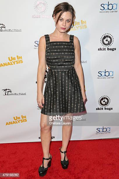 Actress Augie Duke attends the Ur In Analysis screening at the Egyptian Theatre on July 1 2015 in Hollywood California